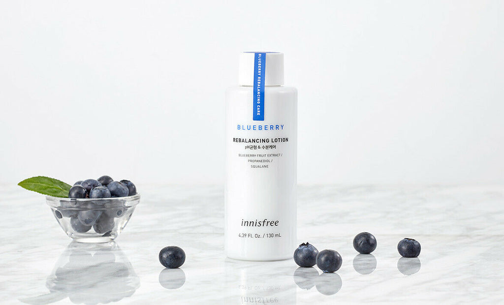 innisfree Blueberry Rebalancing Lotion 130ml - Beautihara