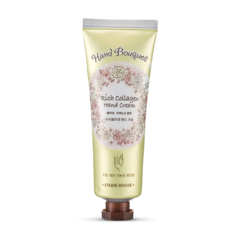 ETUDE HOUSE Hand Bouquet Rich Collagen Hand Cream 50ml - Beautihara