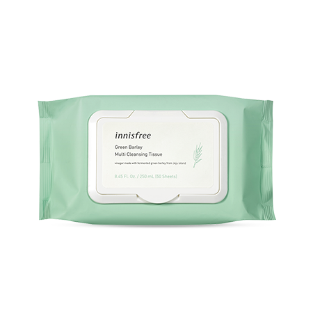 innisfree Green Barley Cleansing Tissue - Beautihara
