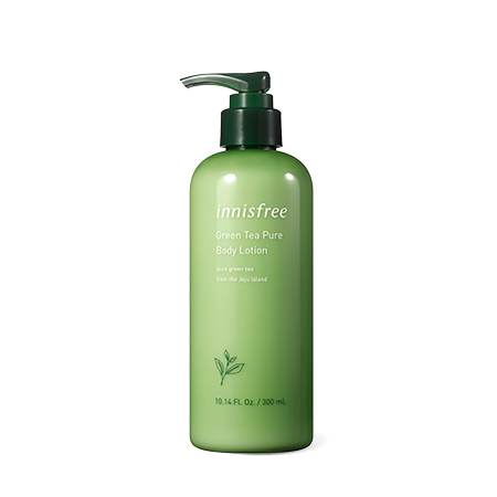 innisfree Green Tea Pure Body Lotion 300ml - Beautihara