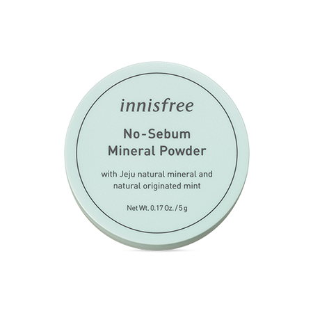 innisfree No Sebum Mineral Powder 5g - Beautihara