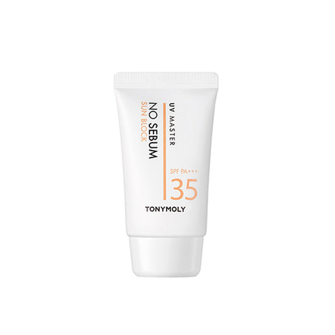 TONYMOLY UV MASTER No Sebum Sun Block 50ml (SPF35+ PA+++)