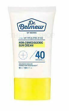 Dr.Belmeur UV Derma Non-Comedogenic Sun Cream 50ml (SPF40 PA+++) - Beautihara