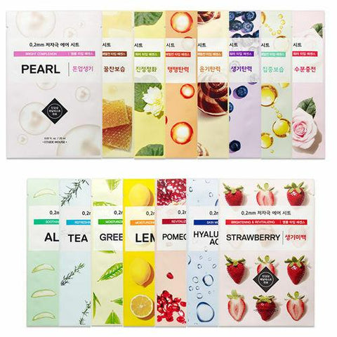 ETUDE HOUSE 0.2 Therapy Air Mask Combo (21 Sheets) - Beautihara