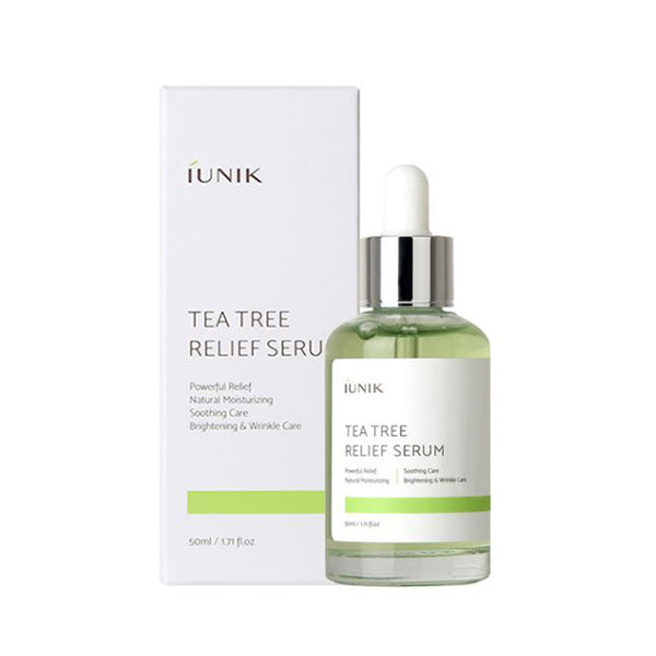 iUNIK Tea Tree Relief Serum 50ml - Beautihara