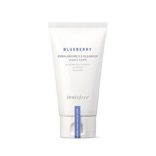 innisfree Blueberry Rebalancing 5.5 Cleanser 100ml - Beautihara