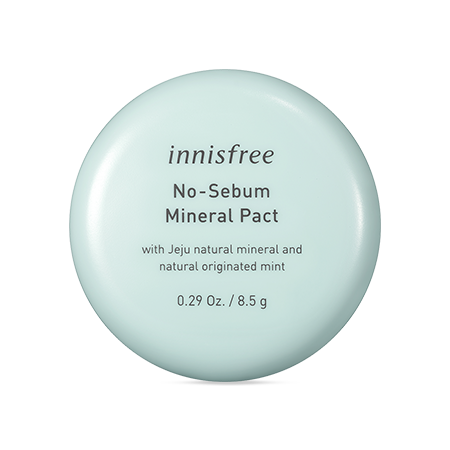 Innisfree No Sebum Mineral Pact 8.5g - Beautihara