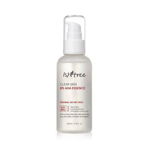 IsNtree Clear Skin 8% AHA Essence 100ml - Beautihara