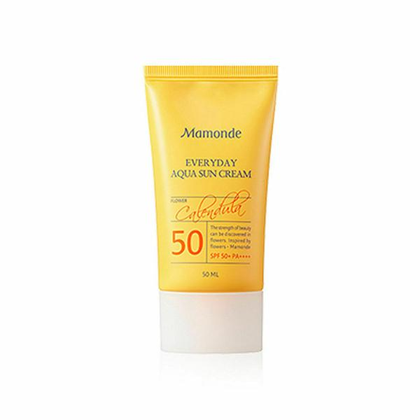 Mamonde Everyday Aqua Sun Cream SPF50+ PA+++ 50ml - Beautihara