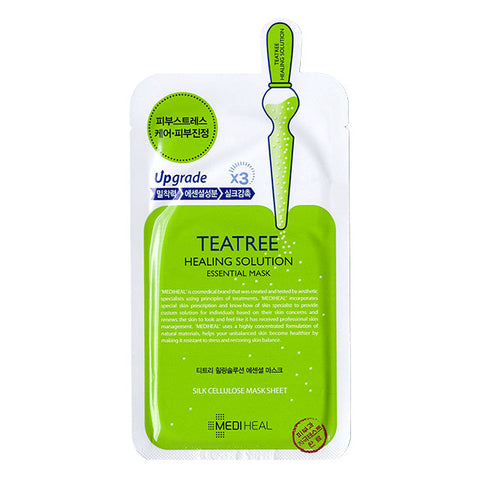 Mediheal Teatree Care Solution Essential Mask EX (10 Sheets) - Beautihara