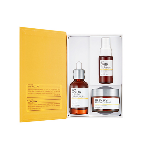 MISSHA Bee Pollen Renew Special Set (3 items) - Beautihara