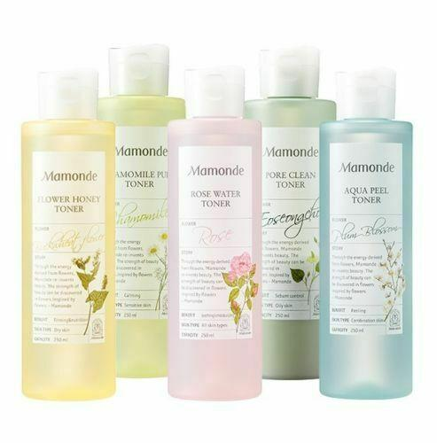 Mamonde Flower Toner 250ml (5 types) - Beautihara
