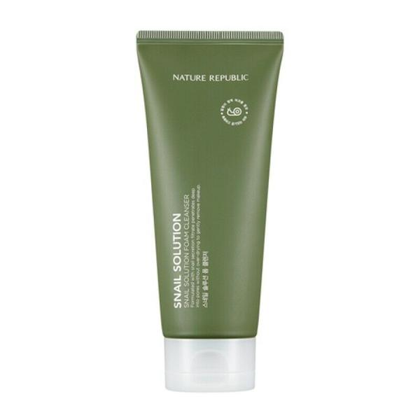 Nature Republic Snail Solution Foam Cleanser 150ml - Beautihara