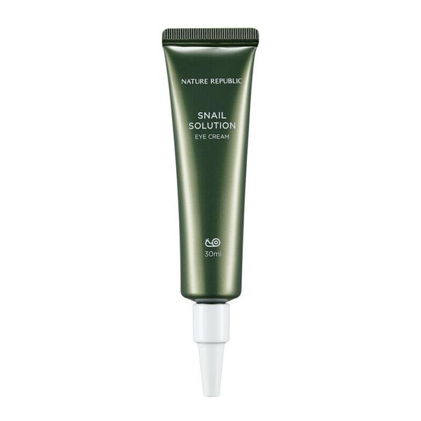 Nature Republic Snail Solution Eye Cream 30ml - Beautihara