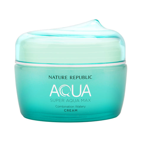 Nature Republic Super Aqua Max Watery Combination Cream 80ml - Beautihara