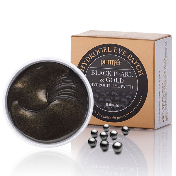 PETITFEE Black Pearl & Gold Hydrogel Eye Patch (60 Patches) - Beautihara