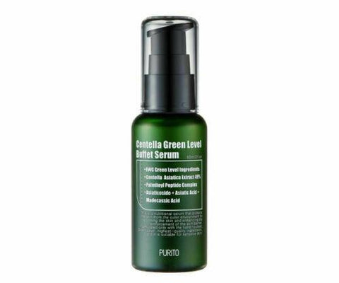 PURITO Centella Green Level Buffet Serum 60ml - Beautihara