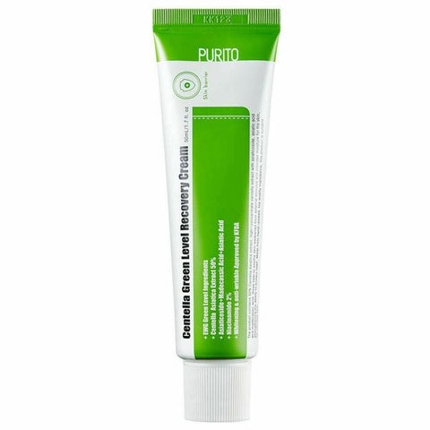 PURITO Centella Green Level Recovery Cream 50ml - Beautihara