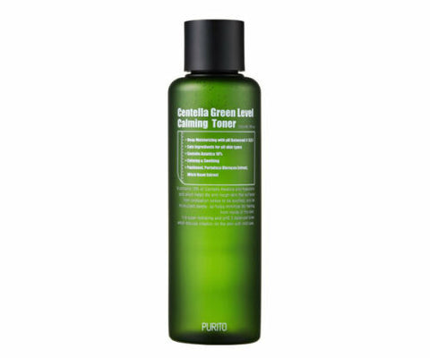PURITO Centella Green Level Calming Toner  200ml - Beautihara