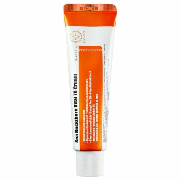 PURITO Sea Buckthorn Vital 70 Cream 50ml - Beautihara