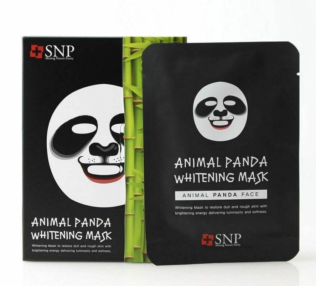 SNP Animal Character Printed Mask Combo (8 Sheets) - Beautihara