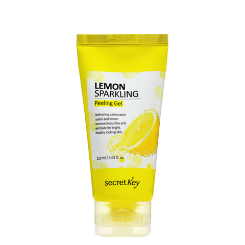 Lemon Sparkling Peeling Gel 120ml - Beautihara