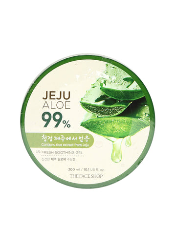 THE FACE SHOP Jeju Aloe Fresh Soothing Gel 300ml - Beautihara