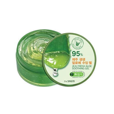the SAEM Jeju Fresh Aloe Soothing Gel 300ml - Beautihara