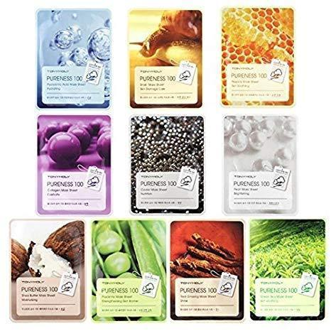Pureness 100 Mask Combo (10 Sheets) - Beautihara