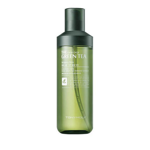 The Chok Chok Green Tea Watery Skin 180ml - Beautihara