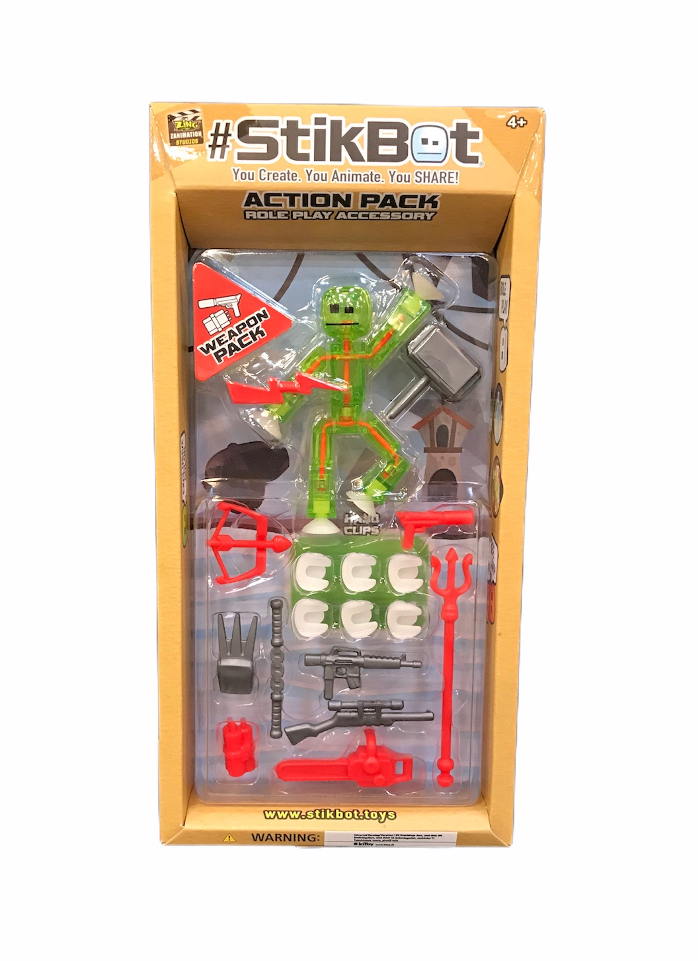Stikbot Action Pack, Role Play Accessory