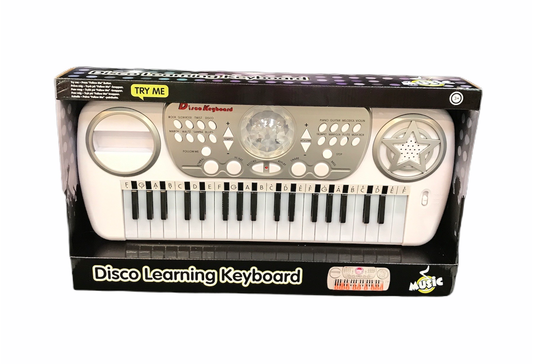 Disco Learning Keyboard