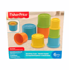 Fisher Price Building Beakers Stacking Blocks