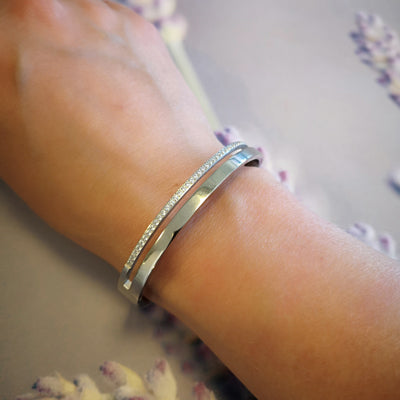 BANGLE MED ZIRKONIA