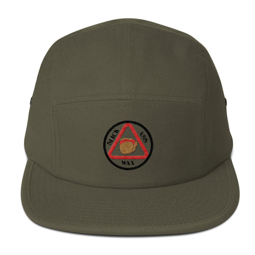 Slick Ass Five Panel Logo Cap
