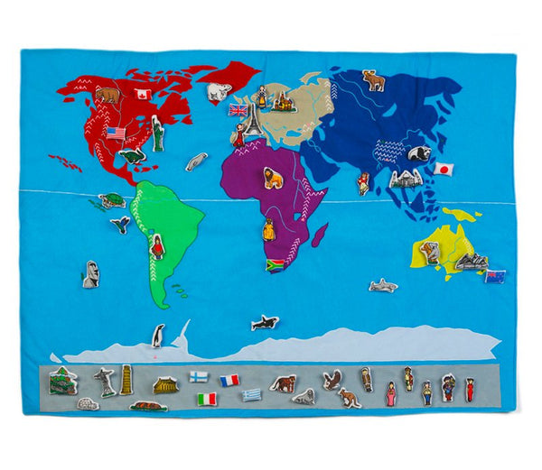 World Map – Die Weltkarte
