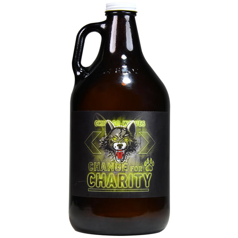 Change for Chicago Wolves Charities Growler