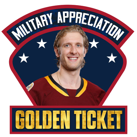 Military Appreciation Jersey Golden Ticket Raffle