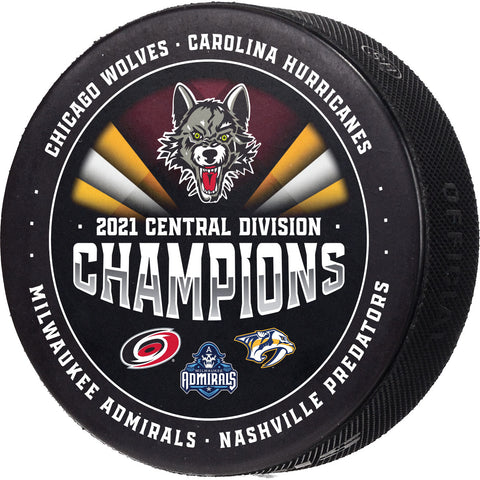2021 Central Division Champions Puck