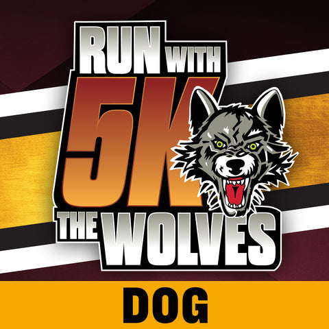 Run With The Wolves Virtual 5K - Dog Registration