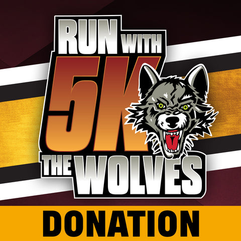 Run With The Wolves Virtual 5K Donation