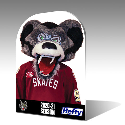 Personalized Chicago Wolves Fan Cutouts