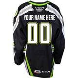 CCM Youth Quicklite Black Alternate Jersey