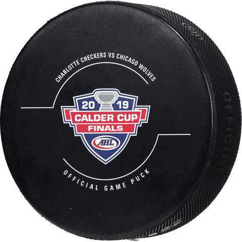 Calder Cup Finals Game Puck