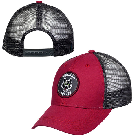 Circle Patch Low Profile Hat