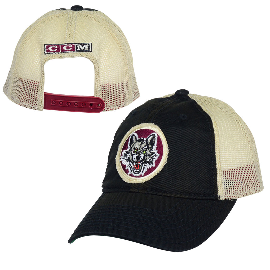 CCM Slouch Mesh Snapback Hat – Chicago Wolves Store 5dff527d9ad