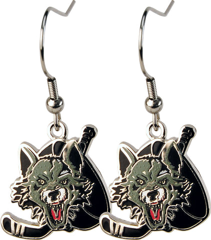 Wolves Logo Earrings