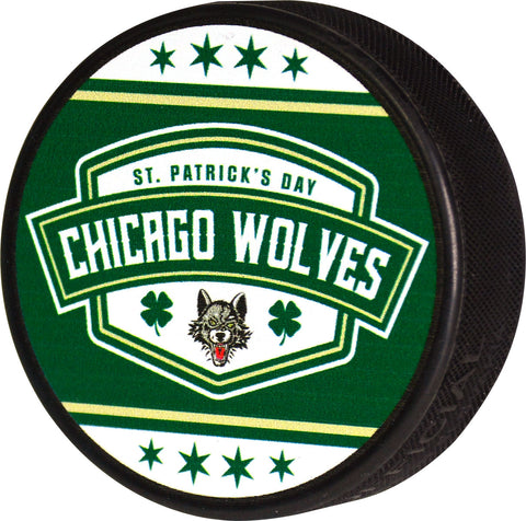 St. Patrick's Day Puck