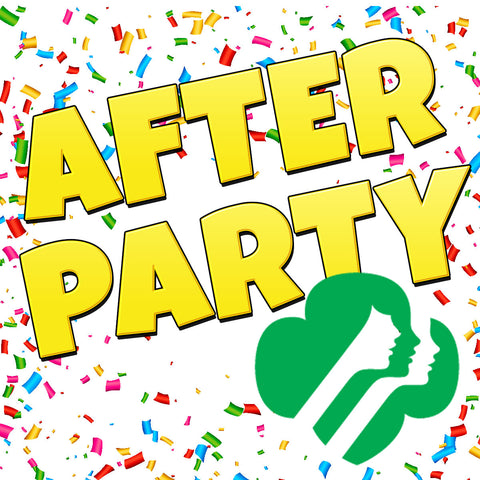 Girl Scout Cookie Rally After Party Admission