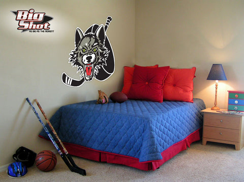 Wolves Logo Wall Cling